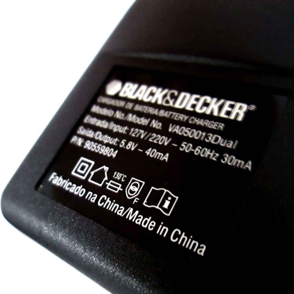 Fonte Carregador 5,8V - Black & Decker