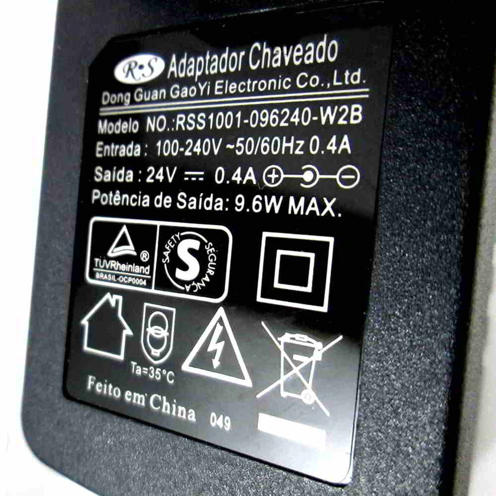Fonte Carregador Bateria 18v./24v. P/ Abs-18s/18t Dwt Bivolt