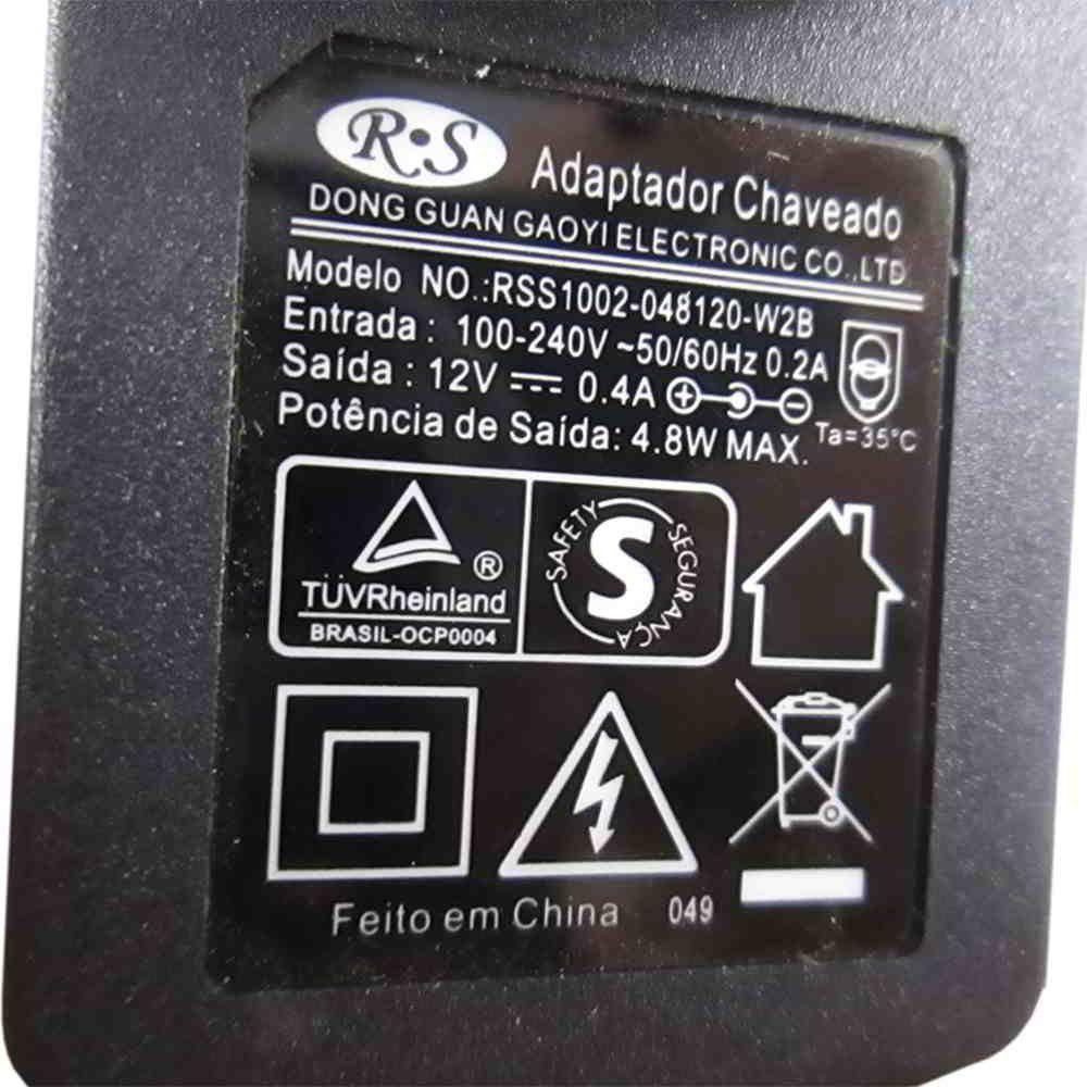 Fonte Carregador Bateria 9,6v./12v P/ Dwt Abs-9,6 Bivolt