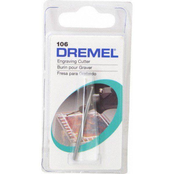 Fresa Escariadora Circular Alta Velocidade 1/16 Pol. Dremel 106