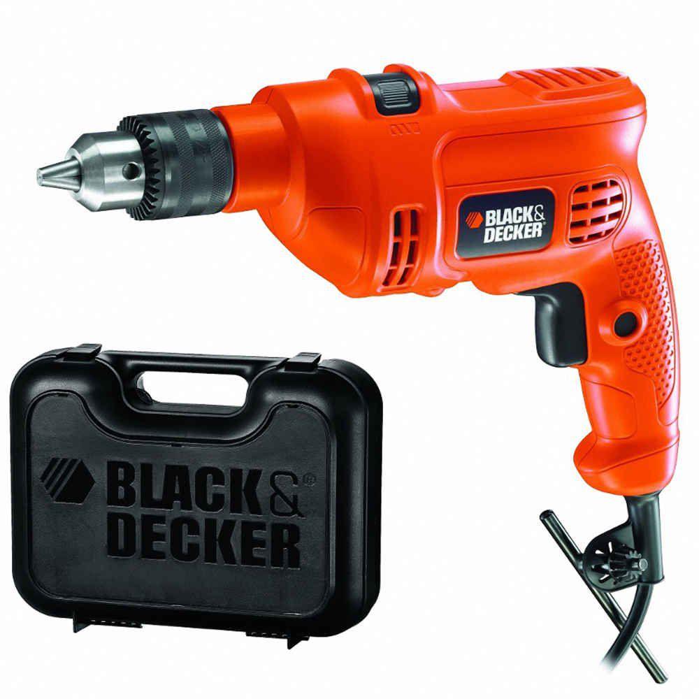 Furadeira de Impacto TM500K 560W com Maleta Black & Decker