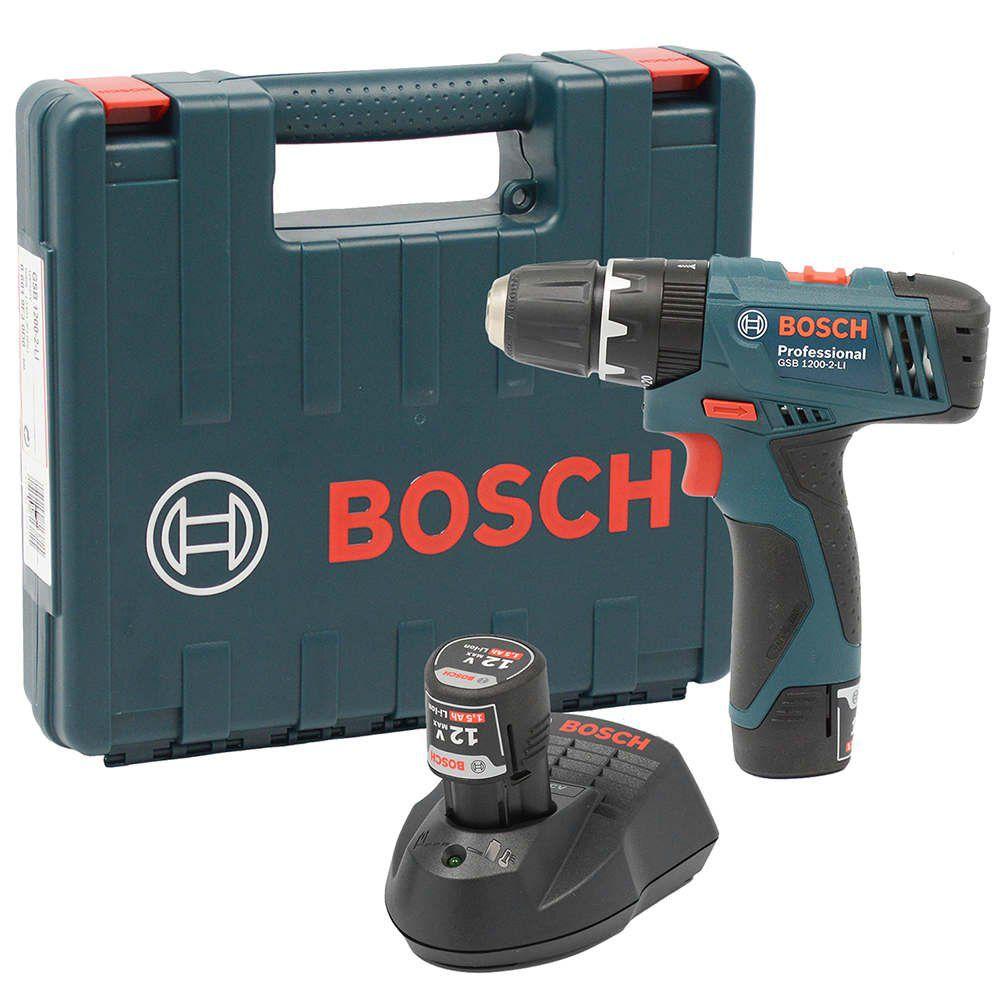 Furadeira Parafusadeira 3/8 Gsb 1200-2-li -Bosch