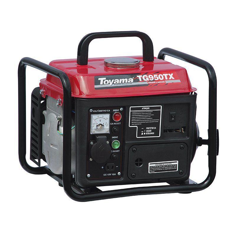 Gerador Gasolina 0.9 Kw 2 Tempos com Quadro TG950TX Toyama