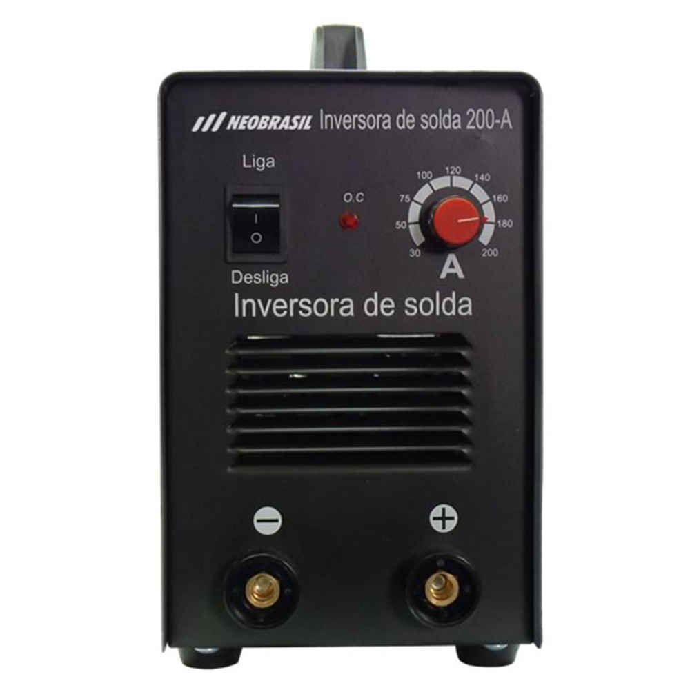 Inversora Solda Eletrônica I 200 Neo Brasil