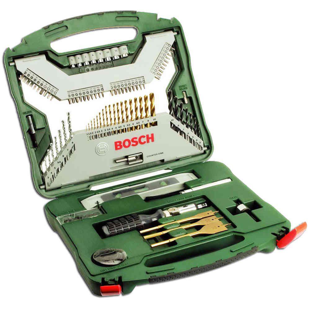 Jogo de Bits X-Line Titânio com 100 peças - Bosch