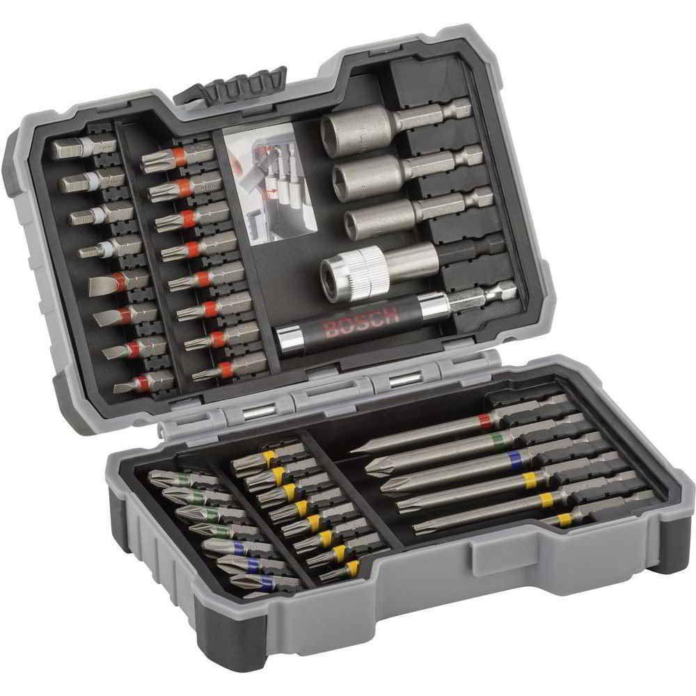 Jogo de Pontas Bits para Parafusar Set Bits 43 peças Bosch