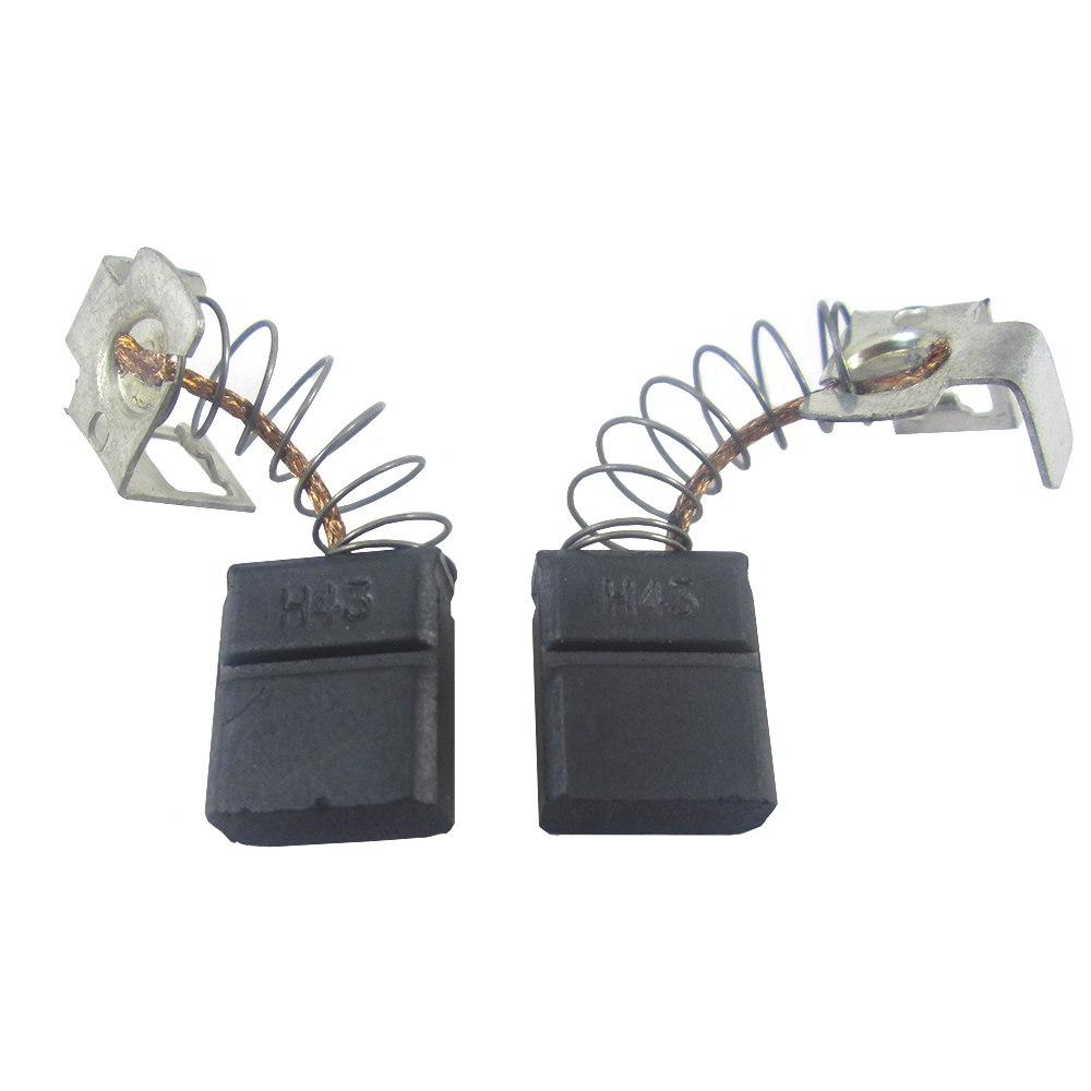 Jogo escova de carvão para serra mármore GDC 14-40 - Bosch - Skil - Dremel - F000611036