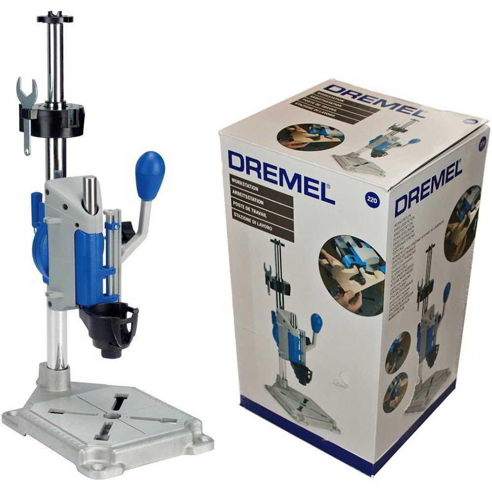 Kit Micro Retífica Dremel 4000 com Suporte Vertical + 39 acessórios