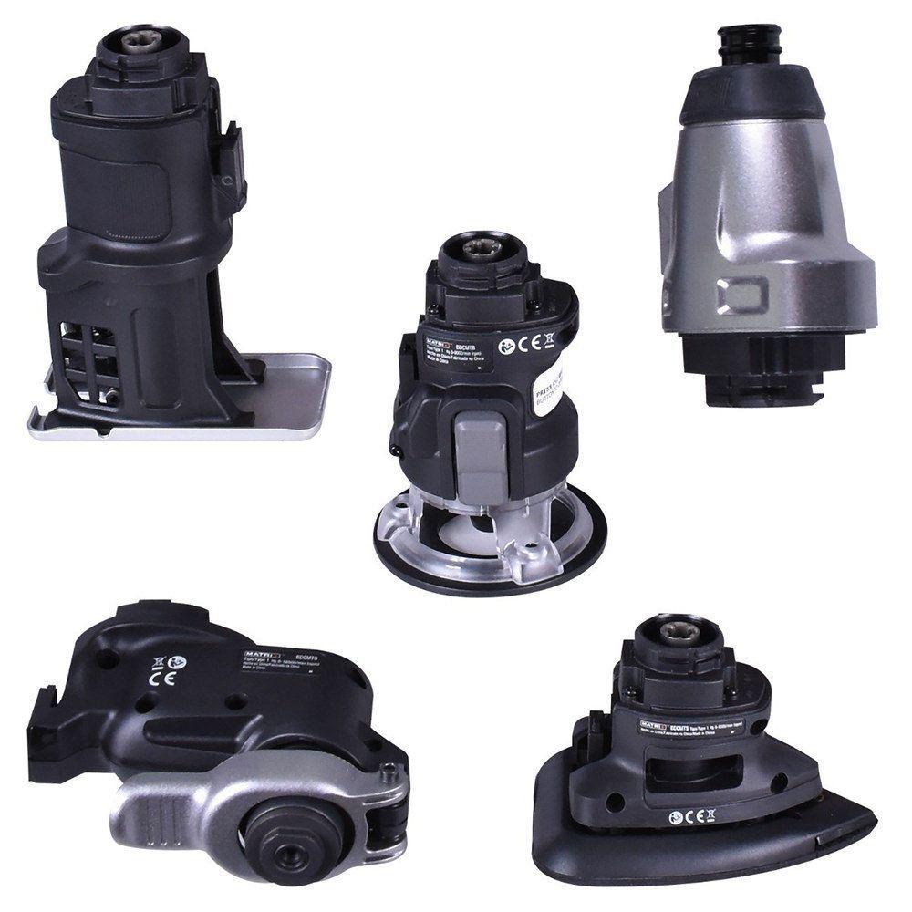 Kit Parafusadeira 6 em 1 Matrix Black & Decker 20V Íon Lítio