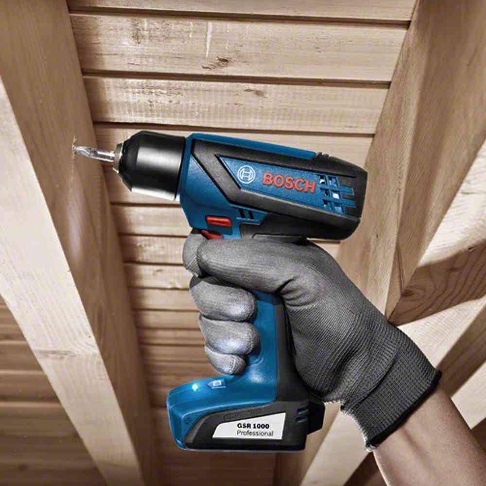 Kit Parafusadeira GSR1000 Smart 12v com Big Bit 25 pç Bosch