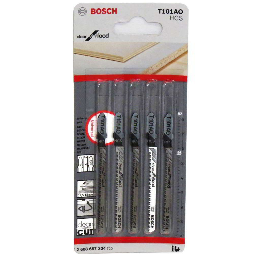 Lâmina Para Serra Tico-tico T101AO HCS Bosch