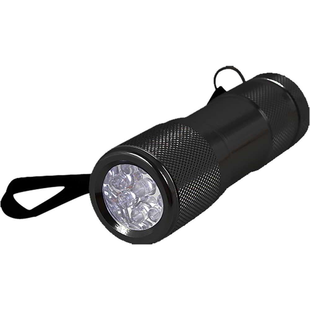 Lanterna Tatica Alumínio 9 Leds Preta Western