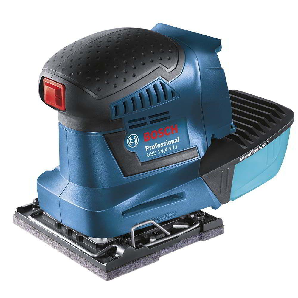 Lixadeira De Palma GSS 14,4 V-li à bateria  - Bosch