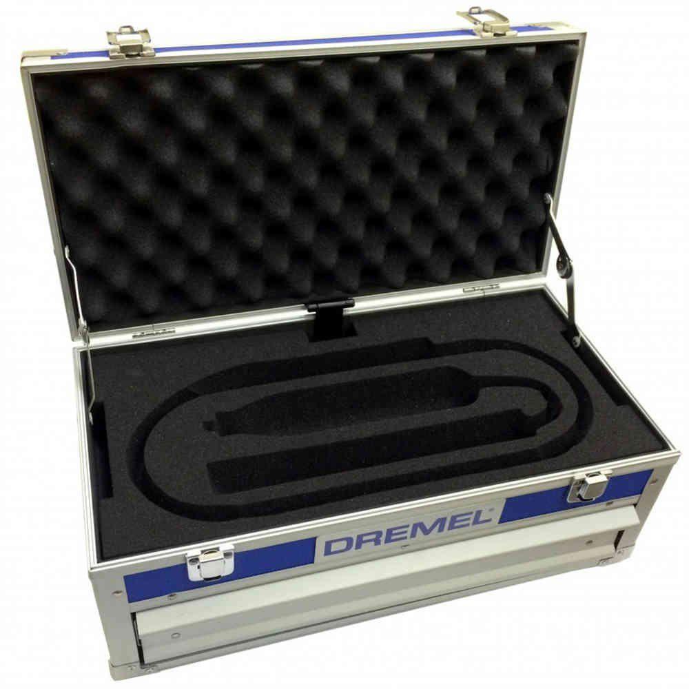 Maleta Alumínio para Micro Retíficas Dremel 300 3000 4000