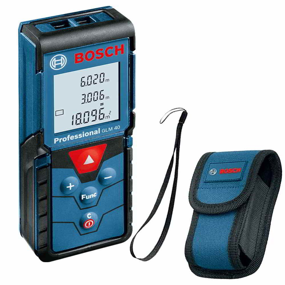 Medidor de Distância à Laser 40M GLM-40 Bosch