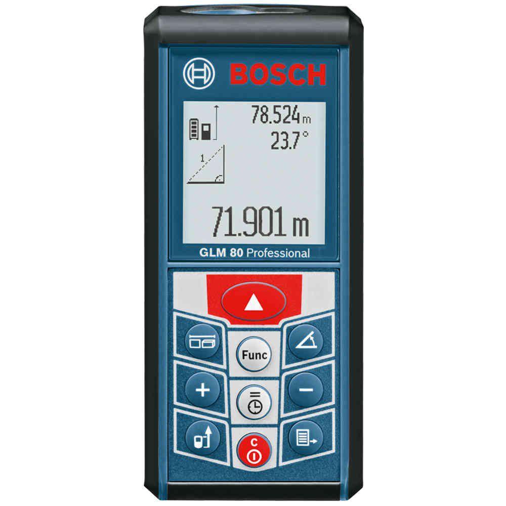 Medidor Distância Trena à Laser 80 Metros GLM 80 Bosch