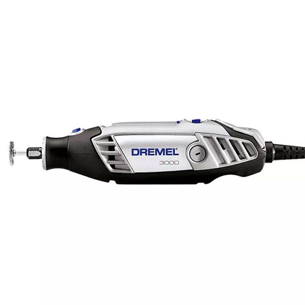 Micro Retífica Dremel 3000 com Kit de 10 Acessórios