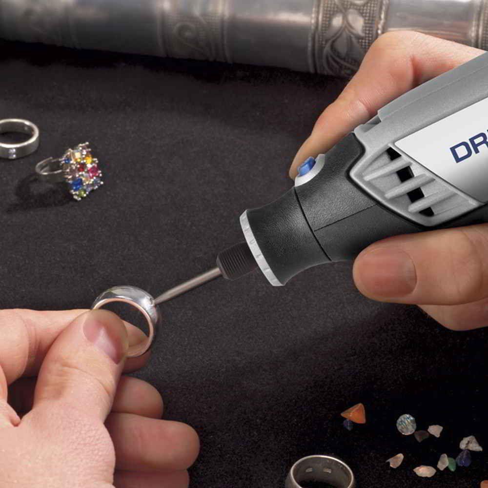 Micro Retífica Dremel 3000 c/ 10 Acessórios + kit 75 acess
