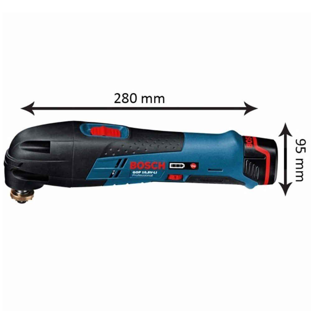Multicortadora à Bateria GOP 10,8V com Maleta Bosch