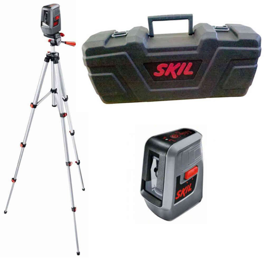 Nível à Laser Alcance com Maleta e Tripé Modelo 0516 Skil