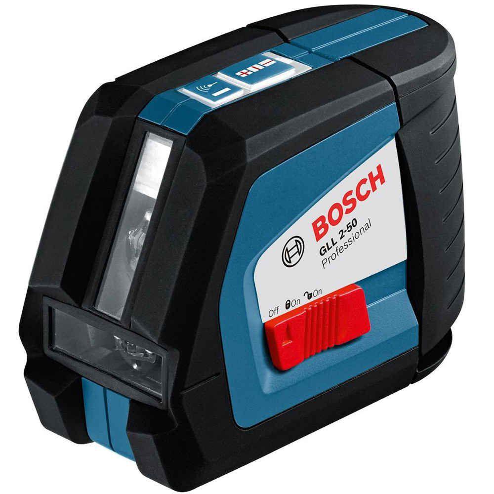 Nível à Laser Automático GLL 2-50 com Placa Angular Bosch