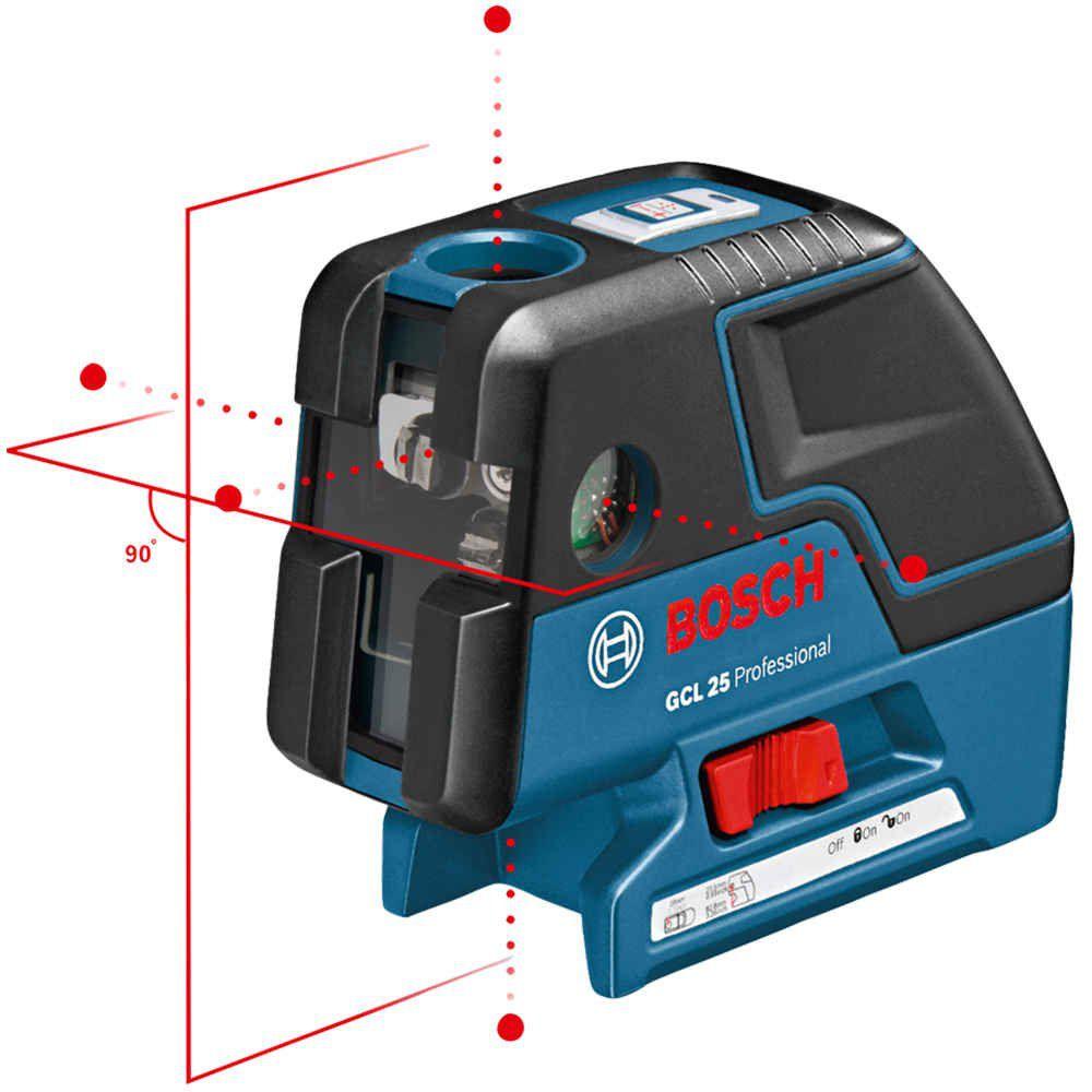 Nível a Laser de Pontos Combinado GCL 25 Bosch