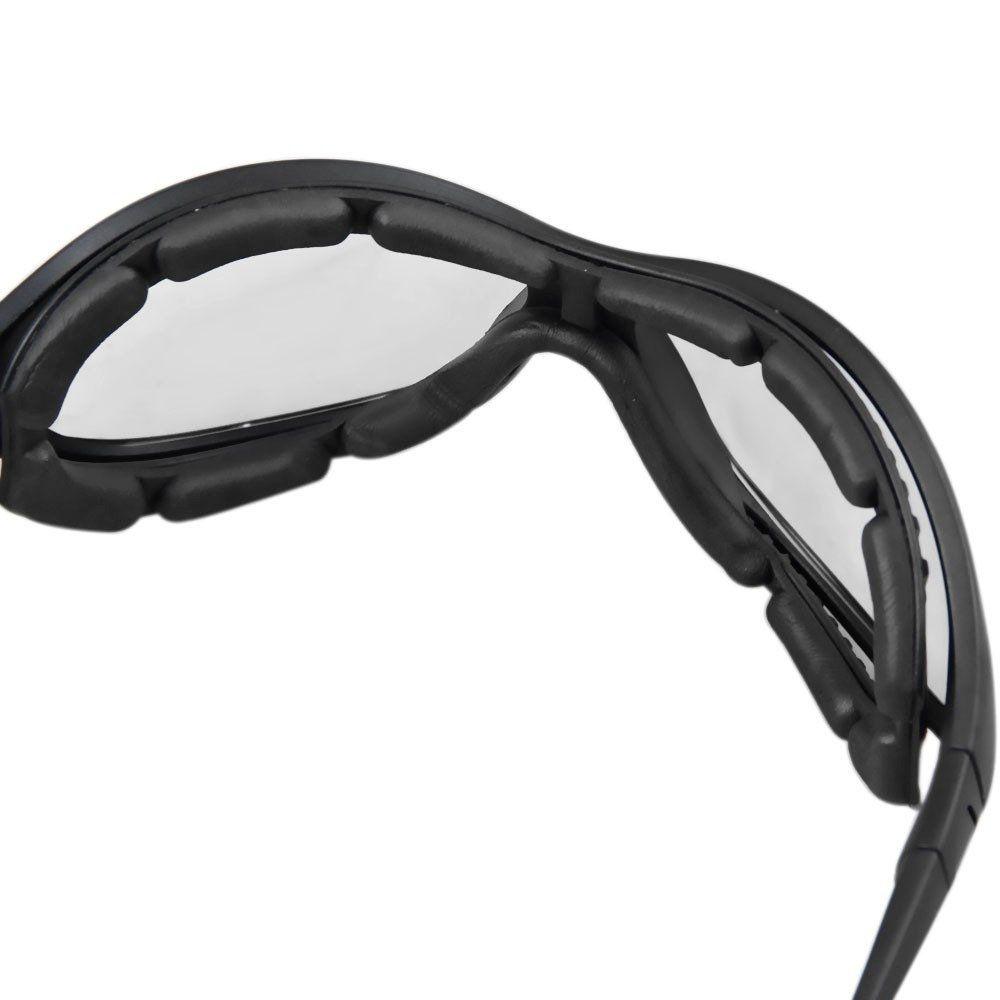 Óculos de Segurança Spyder Incolor Carbografite