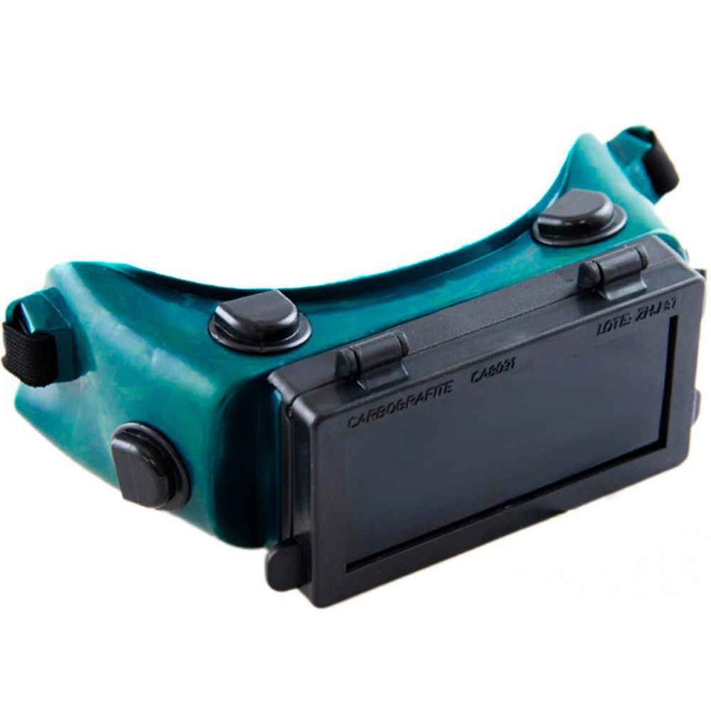 Óculos de Solda Elétrica CG-500 Visor Articulado Carbografite