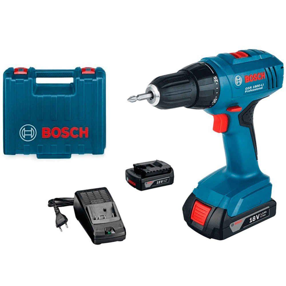 Parafusadeira  18V GSR 1800 Bosch