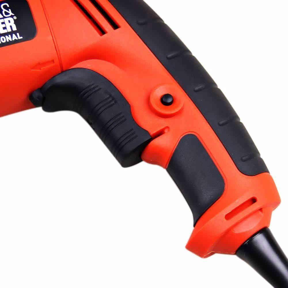 Parafusadeira e Furadeira Elétrica Drywall 1/4 Pol. 520 Watts BDSG500 Black & Decker 110V