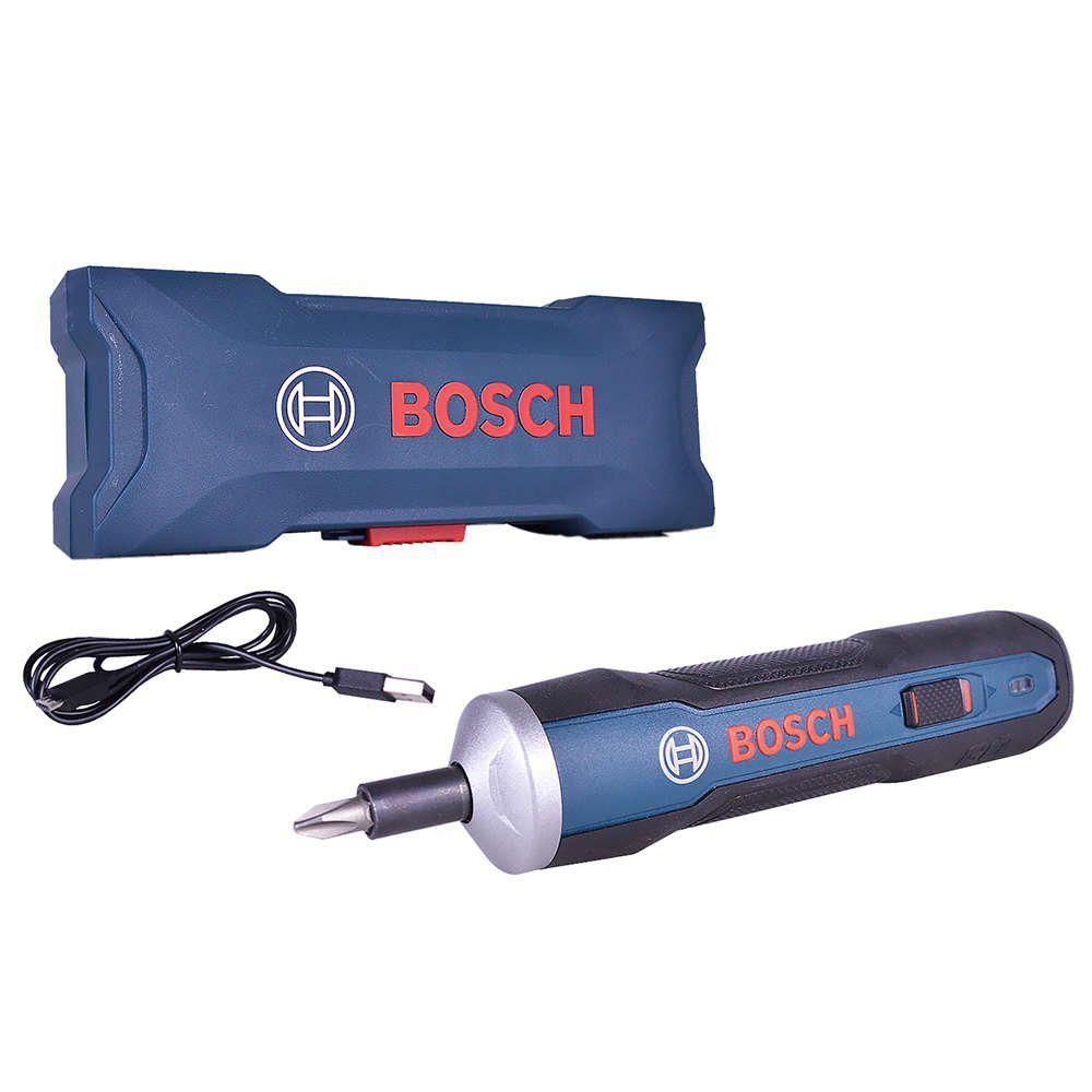 Parafusadeira Reta a Bateria 3,6 V 1,5 Ah Bosch Go Bivolt