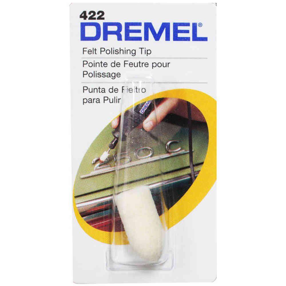 Ponta de Feltro 1/8 Pol. para Micro Retífica Dremel 422