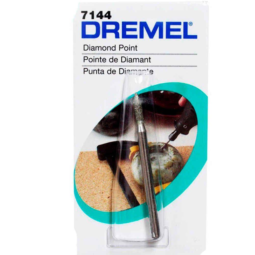 Ponta Diamantada Paralela 3/32 Pol. Dremel 7144