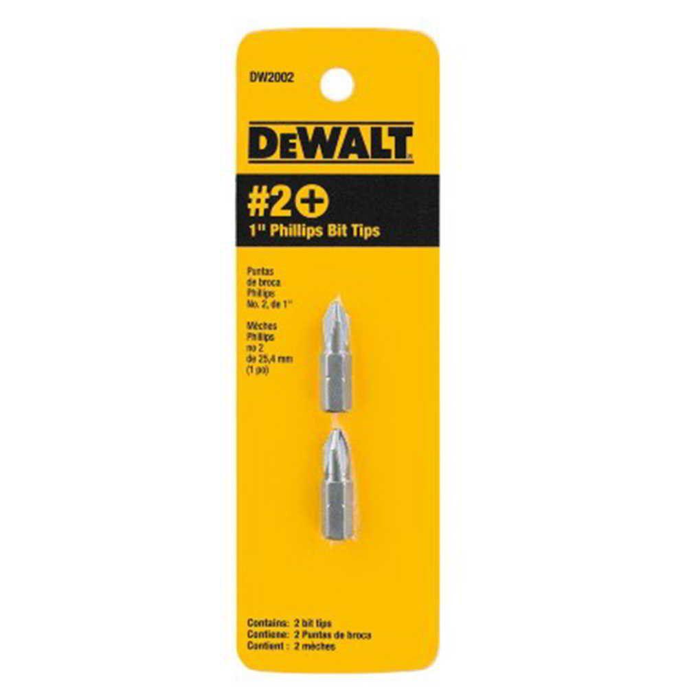 Ponteira 1 Pol. Philips 2 DW-2002 DeWalt