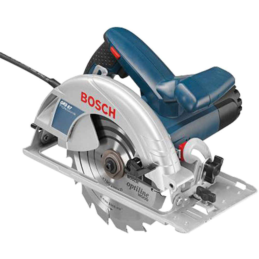 Serra Circular 7.1/4 Pol. 1600 Watts Gks 67 Bosch