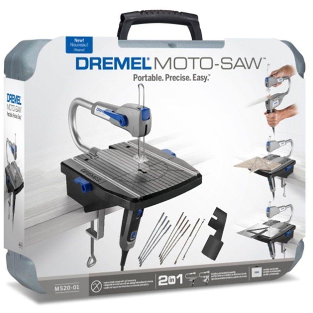 Serra Tico-Tico de Bancada Dremel Moto Saw  MS20-01