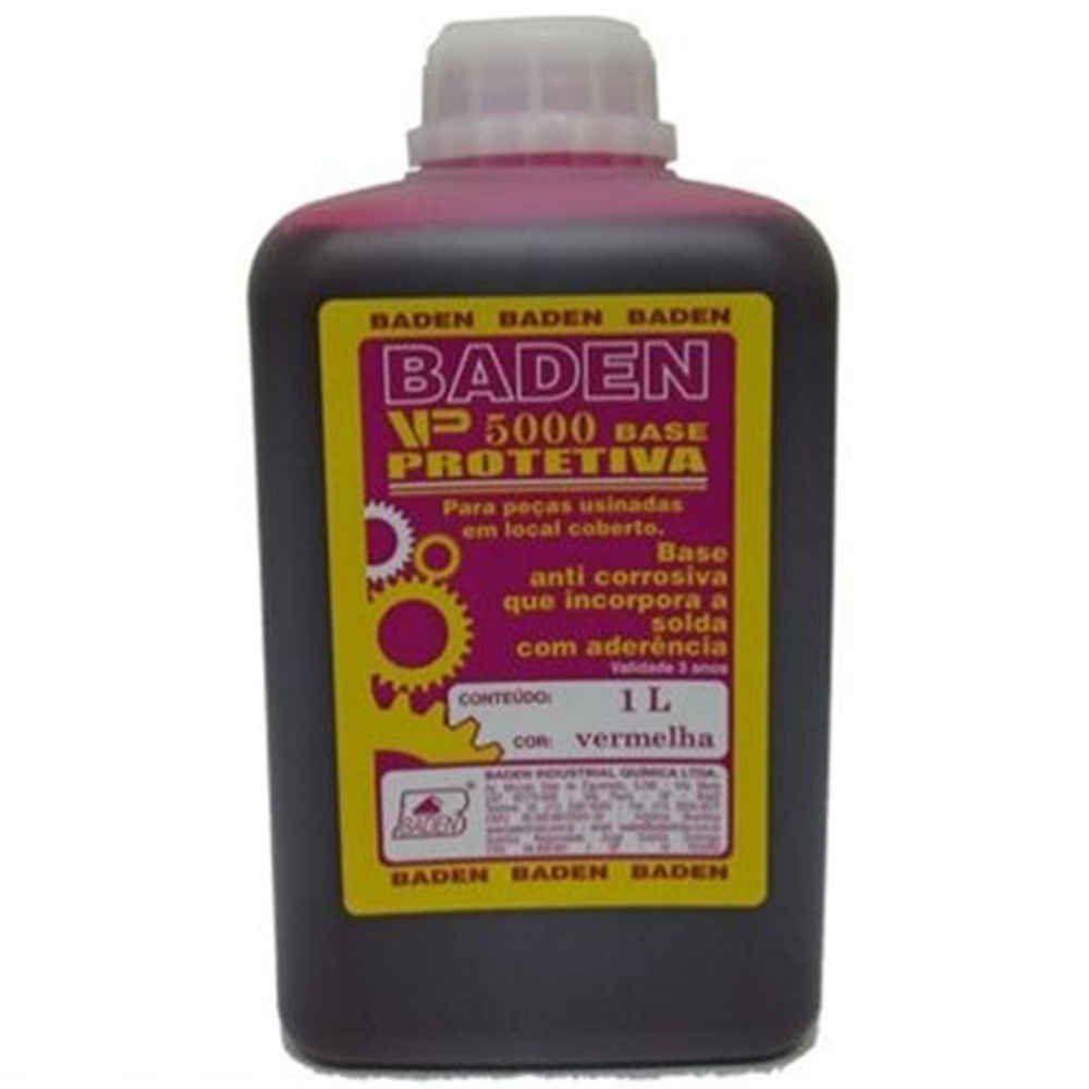 Tinta Verniz Antioxidante Vermelha Baden 1L