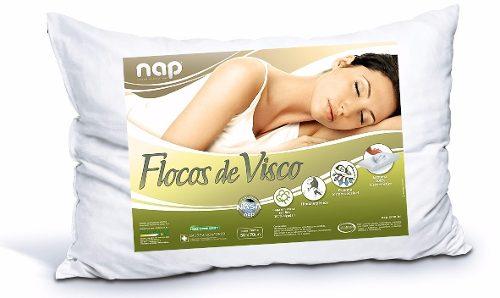 Travesseiro Nasa Nap Flocos de Visco