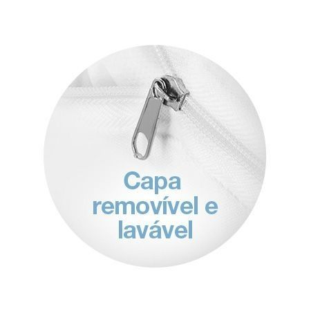 Kit 2 Travesseiros Anti Refluxo Adulto Terapêutico Fibrasca