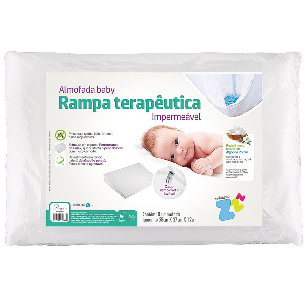 Almofada Antirrefluxo Baby Terapêutico Fibrasca