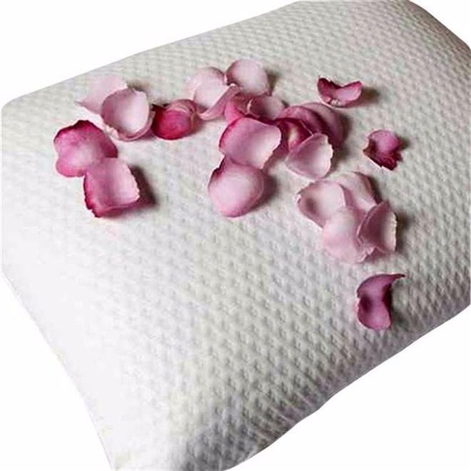 Capa protetora de Travesseiros Impermeável Toque de Rosas Fibrasca