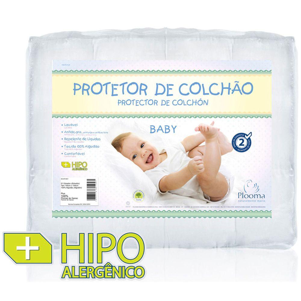 Capa Protetora para Colchão Baby Slip Impermeável - Plooma