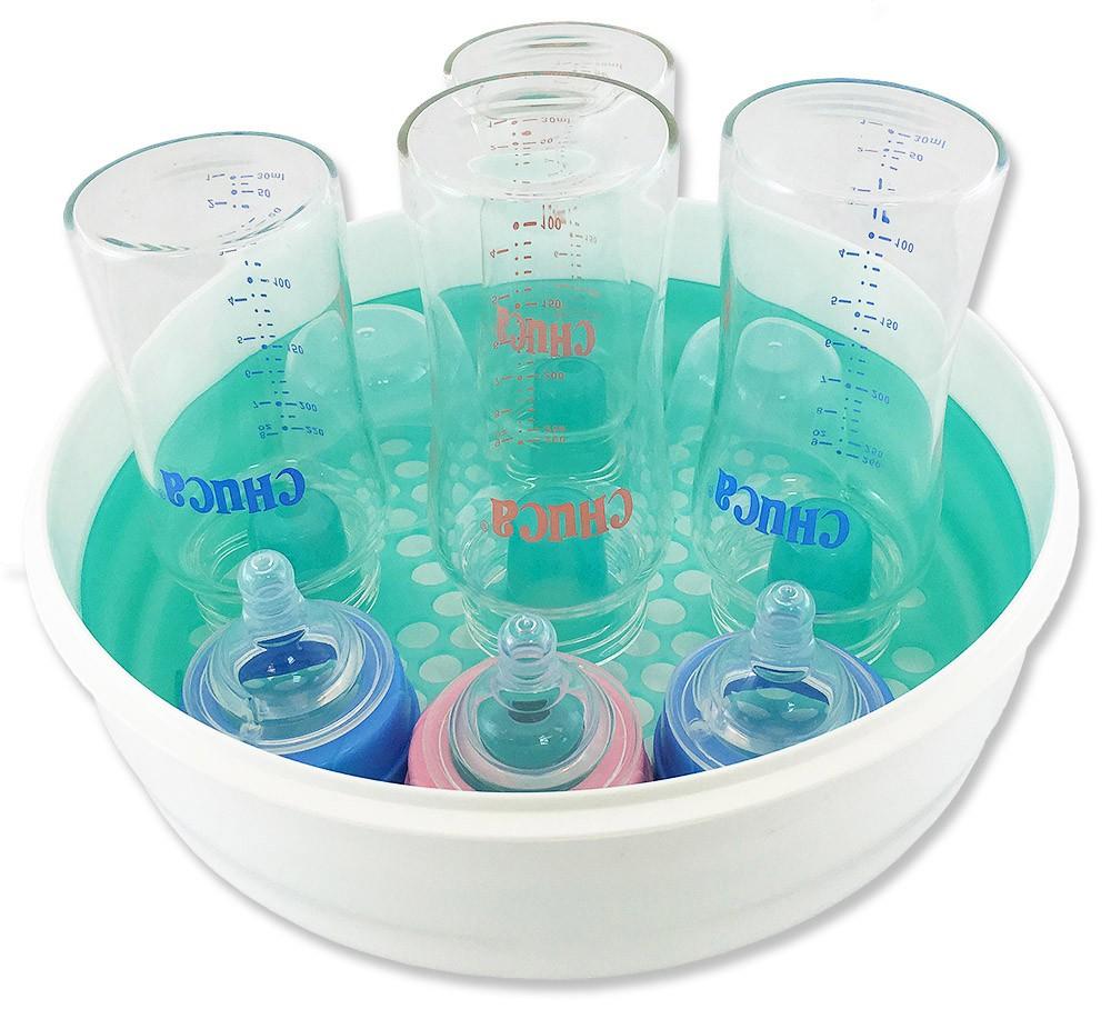 Esterilizador de Mamadeiras a Vapor para Microondas Chuca Baby
