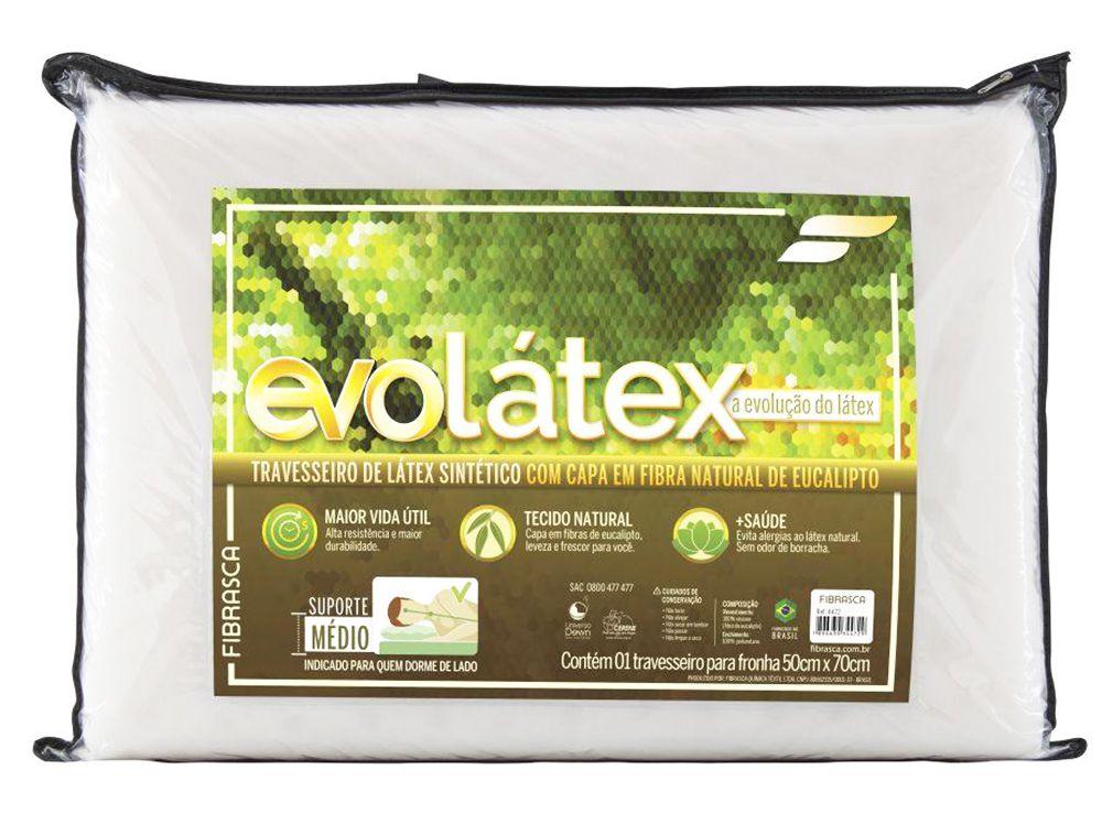 kit 2 Travesseiros Evolátex Médio