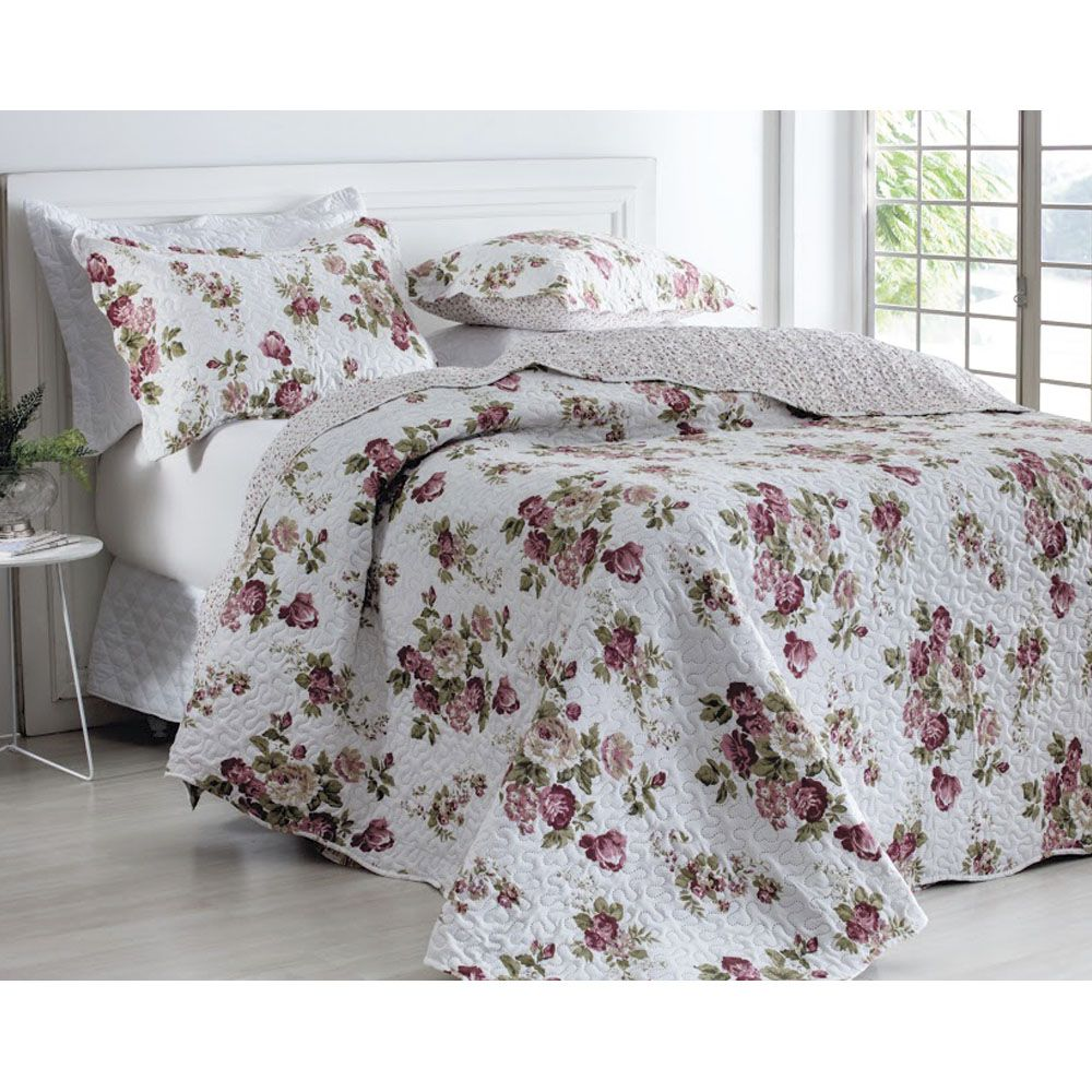 Kit Colcha Patchwork Rose Queen Rozac