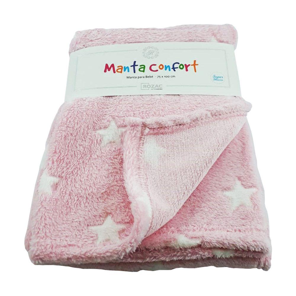 Manta Baby Confort Estrelas 75x100cm Rozac