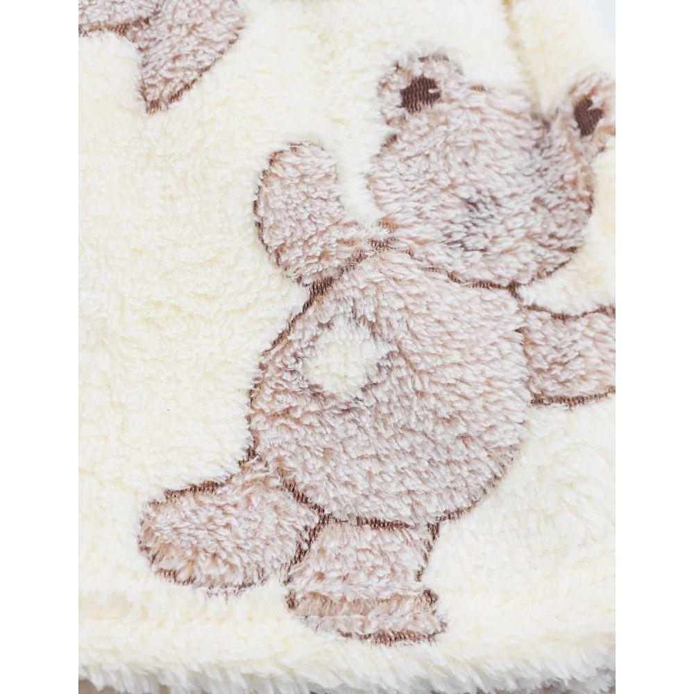 Manta Baby Confort Ursinhos 75x100cm Rozac
