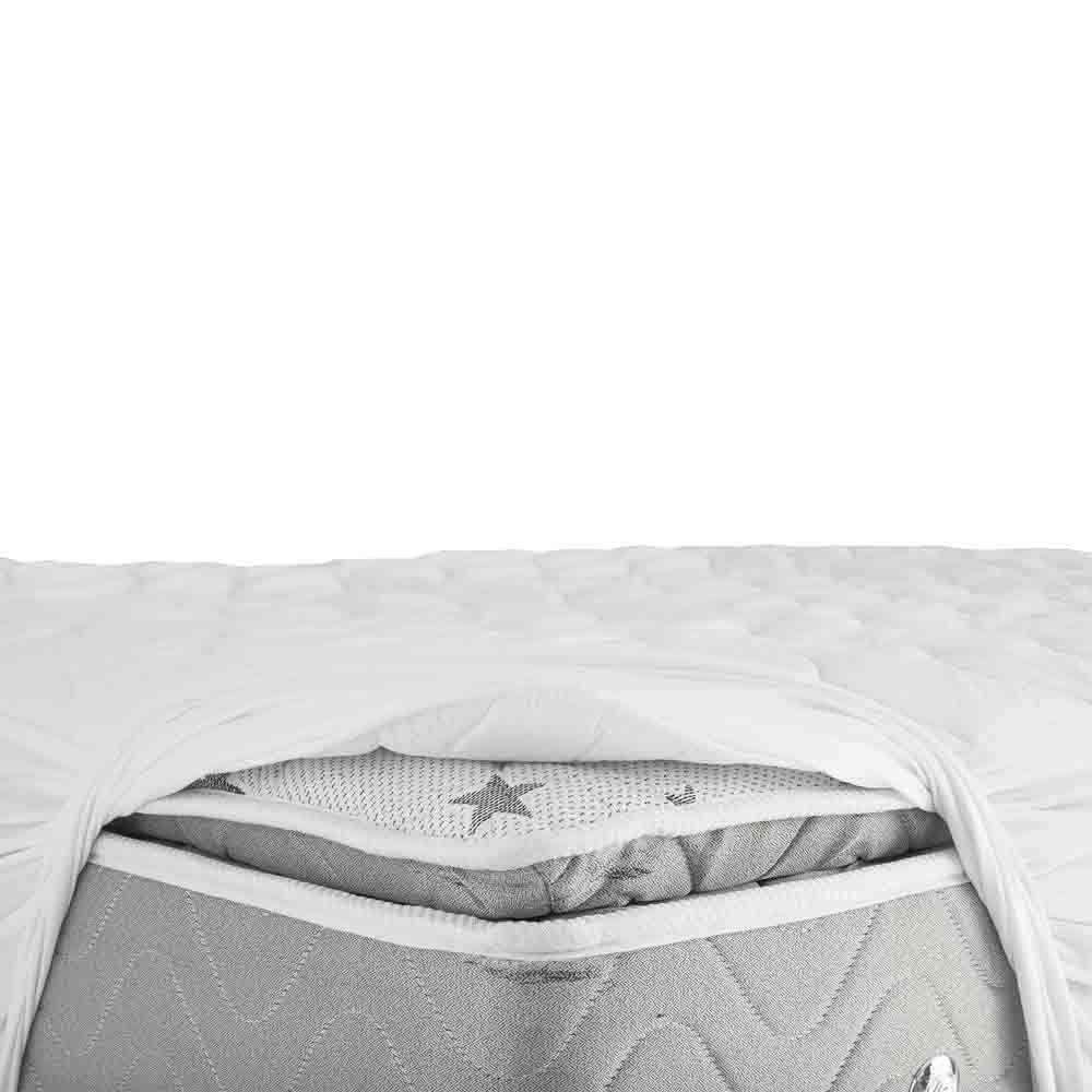 Pillow Top Casal com Protetor de Colchão Drytop Fibrasca