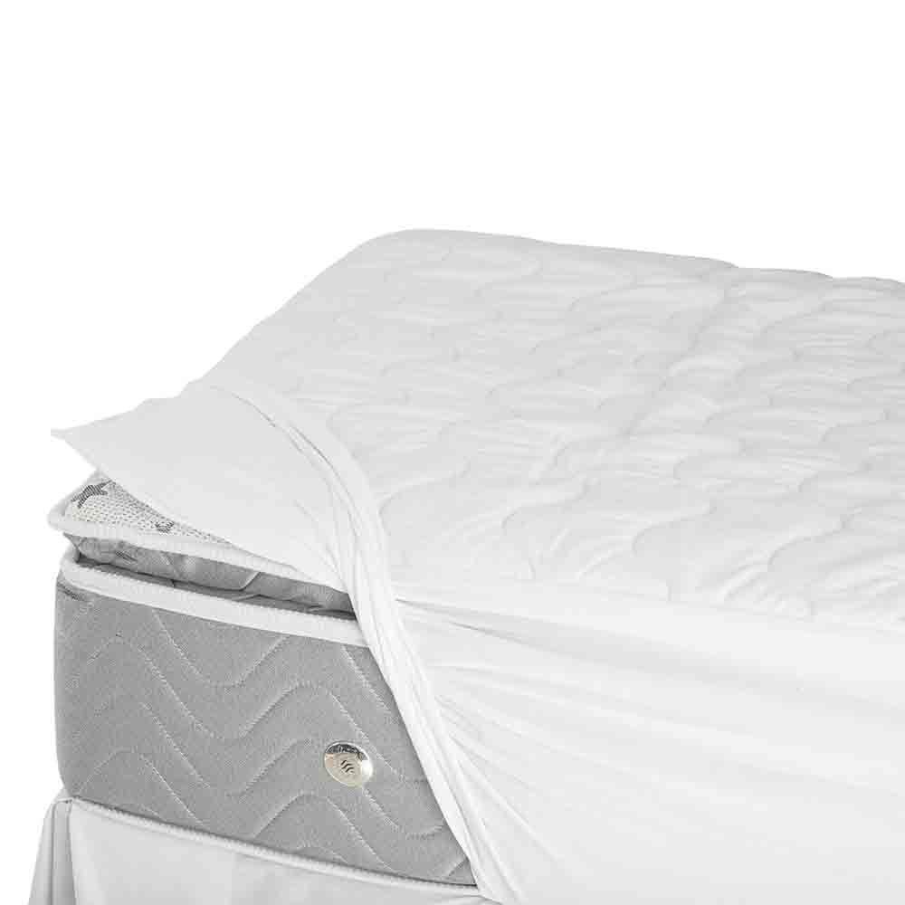 Pillow Top Solteiro com Protetor de Colchão Drytop Fibrasca