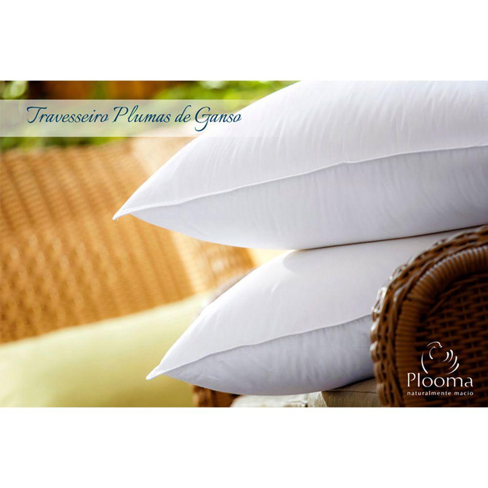 Travesseiro 100% Plumas de Ganso - Plooma